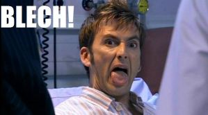 "The Doctor's ""blech"" face by DavidTennantFangirl"