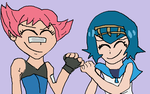 Maylene And Lana Fistbump by TheRisenChaos