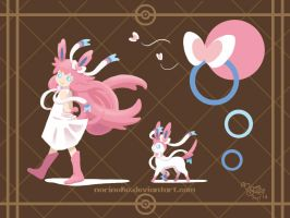 Sylveon by norinoko