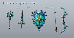 Elemental Weaponry - Water by Hazzard65