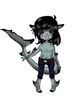 Sharkboy custom for Kalsagnia by Ruruca
