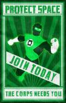 Join the Green Lantern Corps by thisisanton