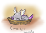Sleeping Acrylicat by CrisisDragonfly