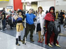 Final Fantasy VII Gang by nightshade-keyblade