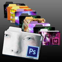 Adobe CS6 Program Folder Icons by ChildrenAreWatching