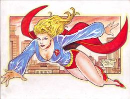 SUPERGIRL 70'S by RODEL MARTIN (08092014)A by rodelsm21