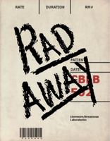 Rad Away Label by emptysamurai