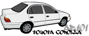 Toyota Corolla by project3