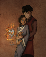 Zuko and Katara by Hillary-CW