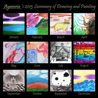 Summary of Drawing and Painting 2013 by Ayaneria