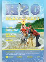 H20 Beach Party Flyer Template by loswl