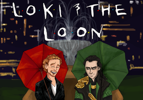 Loki and the Loon by wolf-pirate55