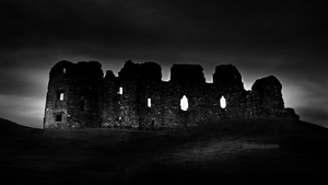 Brough Castle by Nelleke
