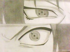 The Uchiha eyes OuO by Sofii20905