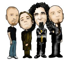 System of a Down by Pkovoldy