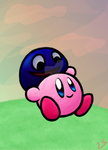 Kirby and Gooey by Wispilia
