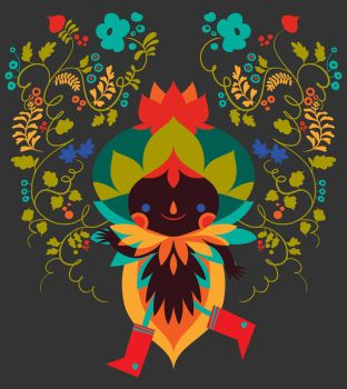 Bell Pepper - T Shirt design by LorenaAlvarez
