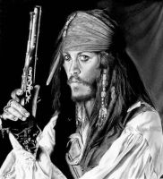 Johnny Depp aka Jack Sparrow by Lorelai82