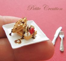 12th scale waffle plate 4 by PetiteCreation