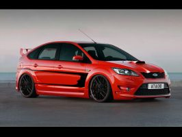 Ford Focus virtual tuning by MicroAlex