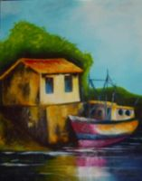 River Boat by lazzaris