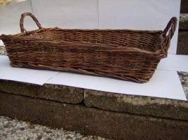 wooden Basket stock 4 by Xovoire