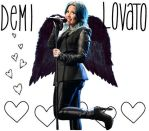 Demetria Lovato Wallpaper by Sasxi
