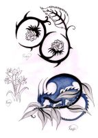 Plant design Tattoos by bexyboo16
