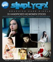 HQ women stock pack 2 by SimplyGFX