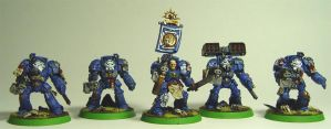Ultramarine Terminators by cyphercodicer2