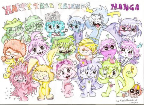 Happy Tree Friends Manga by Hippiesforever14