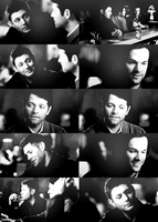 Team free will in a bar by magicrubbish