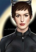 Selina Kyle by christeeeny