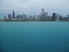 Chicago Skyline by DreamOfYou