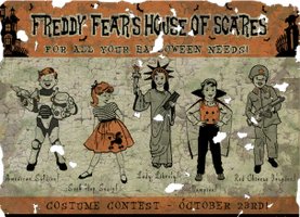 Freddy Fears House of Scares by FalloutPosters