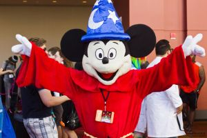 Wizard Mickey Mouse - Disney's Fantasia by VanderPhotography