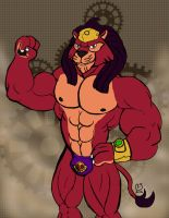 Buff Fanart: Code Name S.T.E.A.M. Lion by CaseyLJones