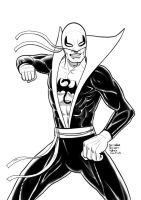 Daily Sketches Iron Fist by fedde