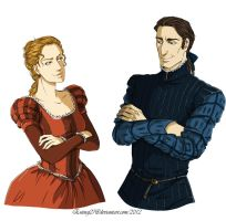 Commission: Gemma and Giles by Eninaj27