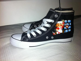 Super Mario Bros custom Converse by Nao-Chan-91