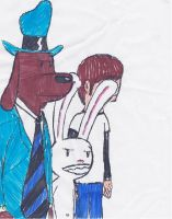 Sam and Max and Me by StrongBrush1