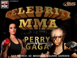 Celebrity MMA Perry Vs GaGa by 1492ANDIBLAIR