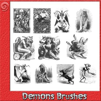 Demons Brushes by Trash63
