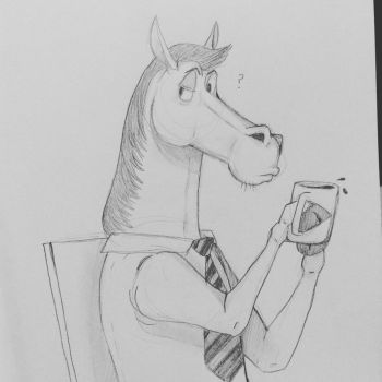 Horse Guy by Canni6alBunny