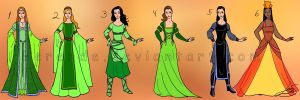 Costume designs 2 by Berende