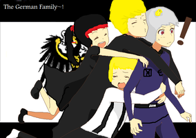 The German Family~! by MadisonKitkat