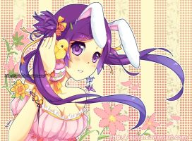 Easter bunny by Quiss