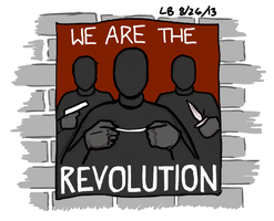 We Are The Revolution by LB-Lee
