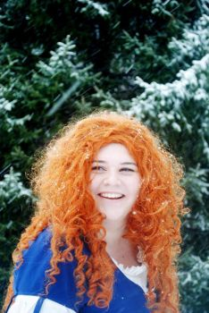 Merida's Snow Day by Terrific-Tampax