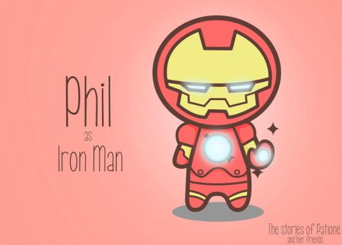 Phil as Iron Man by patione